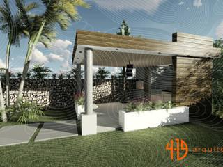 Diseño Arquitectónico - Zona BBQ - Kiosco de 4.19Arquitectos Moderno