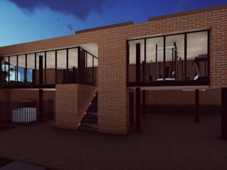 Diseño Arquitectónico - Salón Social de 4.19Arquitectos Moderno