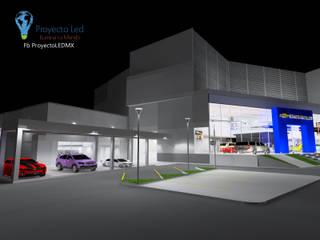 Proyecto Iluminacion Chevrolet PROYECTO LED Concesionarias de automóviles