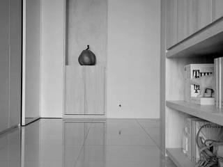【品茉作品:書香佐茶】 斯堪的納維亞風格的走廊,走廊和樓梯 根據 品茉空間設計(夏川設計) 北歐風