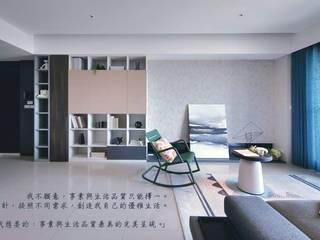 【品茉作品:書香佐茶】 根據 品茉空間設計(夏川設計) 工業風