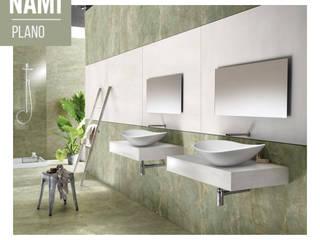 Lavabi in appoggio Hotel moderni di Nami Bath Moderno