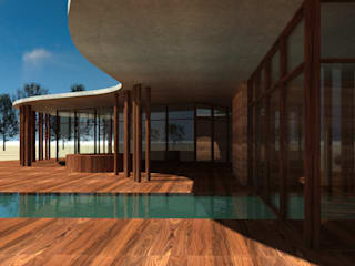 Comporta Eco-cork Resort por meta.atelier Moderno