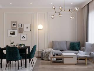 Квартира Шишимская горка Кухня в классическом стиле от Проектно-строительная компания УралДеко Классический