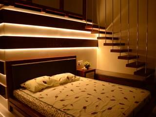 Modern style bedroom by Grid Property Developers Modern