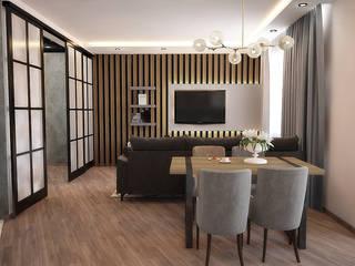 Дизайн квартиры Гостиная в стиле модерн от Руденская Дизайн Модерн