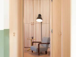 Marianna Porcellato Porvett Scandinavian style bedroom Wood Green