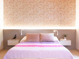 Marianna Porcellato Porvett Modern style bedroom MDF Multicolored