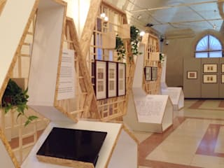 Exposition anie jun wan dumont Asiatisches Messe Design OSB Beige