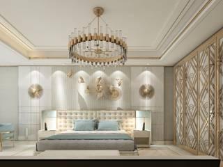 Inan AYDOGAN /IA Interior Design Office Eclectic style bedroom Wood-Plastic Composite Beige