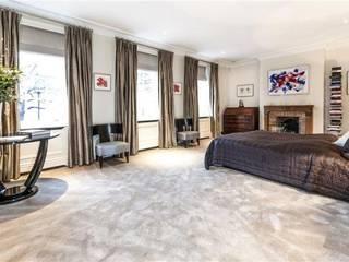 Ristrutturazione di lusso immobile residenziale - Londra Camera da letto moderna di The Green H LLP Moderno