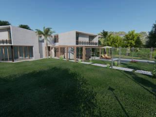 3d Architectural Villa Model Ahza Kırsal/Country