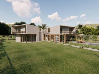 3d Architectural Villa Model Kırsal Bahçe Ahza Kırsal/Country