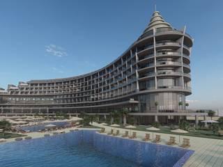Engiz Mimarlık Mühendislik LTD – Seaden Quality Resort: modern tarz , Modern
