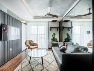 SEASON AVENUE – THIẾT KẾ CHUNG CƯ CAO CẤP MỘC MẠC MÀ SANG TRỌNG Phòng giải trí phong cách kinh điển bởi Neo Classic Interior Design Kinh điển