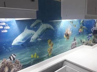 Cam mutfak arası panel montajı Yıldırım Dekor Kırsal/Country