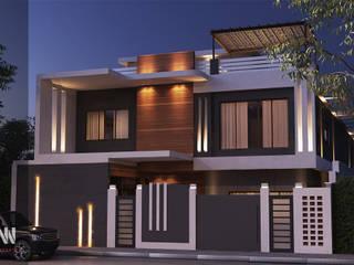 Modern Houses by AKYAN SQUARE Modern