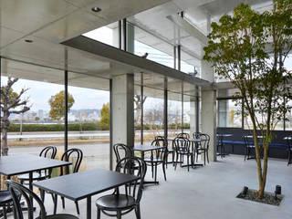 宇品のカフェ モダンなレストラン の IGArchitects モダン