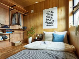 土間のあるローコスト木造住宅 の IGArchitects ラスティック