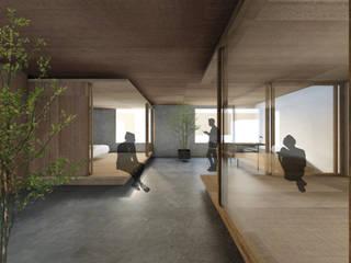 北国のローコストリノベーション ラスティックスタイルの 温室 の IGArchitects ラスティック
