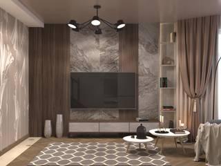 Livings de estilo minimalista de AnARCHI Minimalista