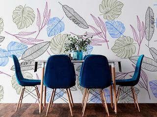 Vinilo decorativo de pared Salas modernas de Creavinilo.com Moderno