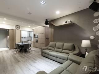 時尚系列 KRONOTEX德國高能得思地板 客廳沙發與扶手椅 複合木地板 Grey
