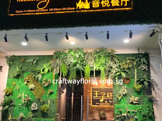 Artificial flowers and plants supplier Tropical style office buildings by Craftway Floral & Gifts Tropical