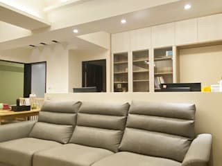 度假休閒 X LOHAS宅: 極簡主義  by 玄御奇系統傢俱, 簡約風