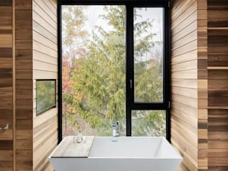 Green Living Ltd Modern bathroom Solid Wood