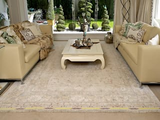 Erlesene Perserteppiche Teppichhaus Sami Klassische Wohnzimmer Beige