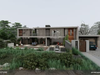 House van dycks baai by STUDIO ARCHITECTURE + PARTNERS