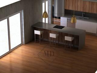 Projecto Cozinhas modernas por Maria & Dias Lda Moderno