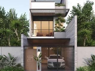 Nhà phố Đà Nẵng - Mr. Thủy bởi Công ty TNHH Xây dựng & Thương mại Vũ Hưng Thịnh Châu Á