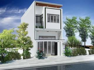 Nhà phố Đà Nẵng - Mr. Tính bởi Công ty TNHH Xây dựng & Thương mại Vũ Hưng Thịnh