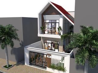 Nhà phố Đà Nẵng - Mr. Cửu bởi Công ty TNHH Xây dựng & Thương mại Vũ Hưng Thịnh