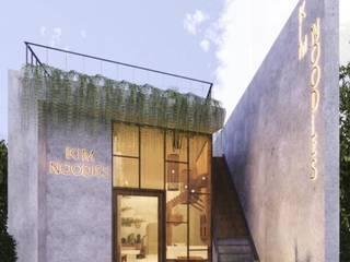 Thi công nhà hàng Đà Nẵng - Kim Noodies bởi Công ty TNHH Xây dựng & Thương mại Vũ Hưng Thịnh