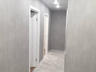 Minimalist corridor, hallway & stairs by Прямой Угол Minimalist