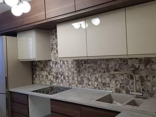 Мытищи. Ремонт кухни и туалета от Прямой Угол Модерн