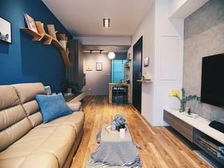 精緻系列 KRONOTEX德國高能得思地板 客廳沙發與扶手椅 複合木地板 Amber/Gold