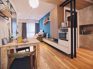 精緻系列 KRONOTEX德國高能得思地板 廚房桌椅 複合木地板 Amber/Gold