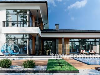 Проект стильного двухэтажного дома TMV 38A от TMV Architecture company