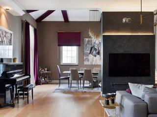 HEY HOUSE Modern Oturma Odası ESRA AŞIKOĞLU Modern