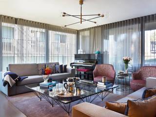MG HOUSE Modern Oturma Odası ESRA AŞIKOĞLU Modern