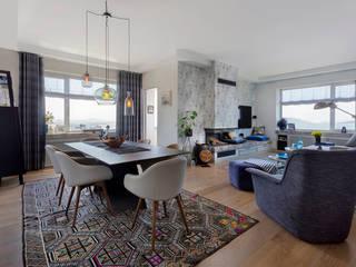 TU HOUSE Modern Oturma Odası ESRA AŞIKOĞLU Modern
