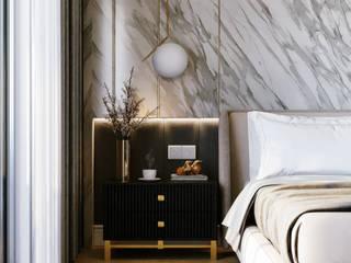Apartment / Master Bedroom by VIZPIXEL STUDIO Modern