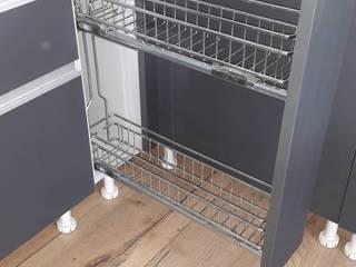Cozinha Termo-laminado Cinza claro e Cinza Escuro Touch por Cup´élia, Lda Moderno