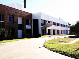 Reforma de una Planta industrial, ubicada en Quilmes Paredes y pisos modernos de Ba75 Atelier de Arquitectura Moderno