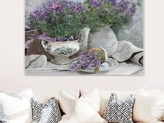 Obraz na płótnie Lawenda dla Edgara Degas Renaty Bułkszas Nowak grafikiobrazy.pl SalonAkcesoria i dekoracje Tekstylia Fioletowy