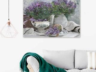 Obraz na płótnie Lawenda dla Edgara Degas Renaty Bułkszas Nowak grafikiobrazy.pl SalonAkcesoria i dekoracje Tekstylia Szary